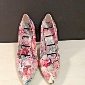 """Elle Womens Pump Heels Shoes sz 9 m 4.5"""" heels Pum"""